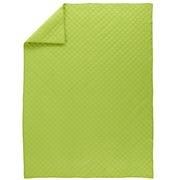 Kids' Blankets: Kids Green Voile Quilted Blankets in Kids Blankets