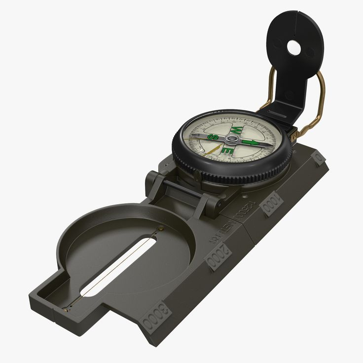 Army Pocket Multifunction Compass