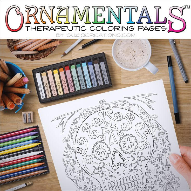 the blooms and bows coloring page is a printable pdf for you to decorate by coloring design in the ornamentals therapeutic coloring pages collection