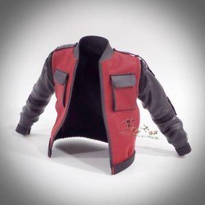 a hot toys mms379 volver al futuro parte ii marty mcfly figura 16th escala chaqueta
