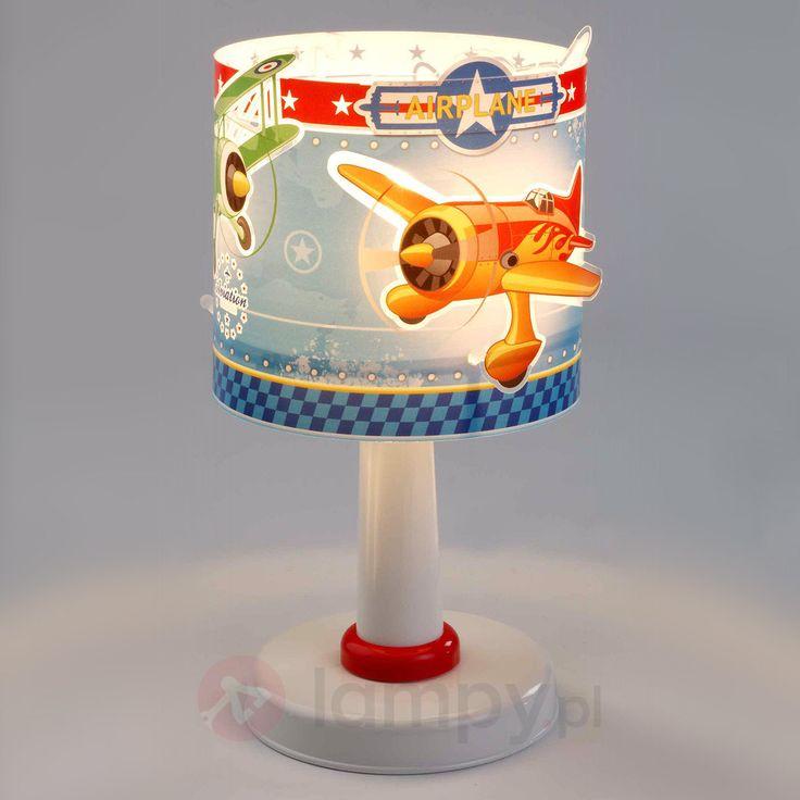 Dziecięca lampka nocna Airplane 2507287