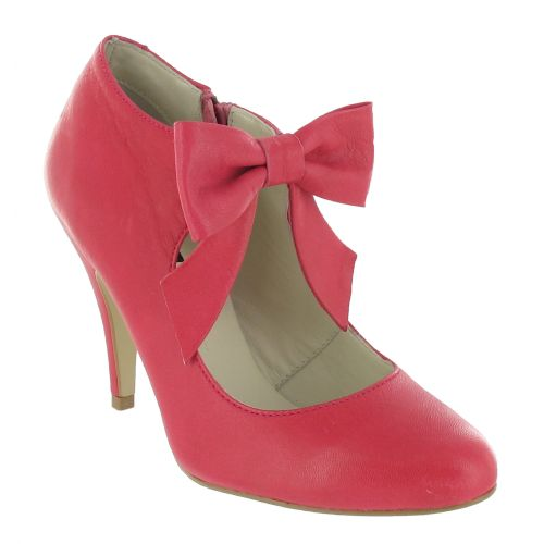 Fuxia High Heeled Court Shoe with a Bow, Was £120, Now £60 #bridesmaid #GardenParty
