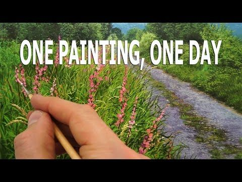 One painting in one day - Time Lapse