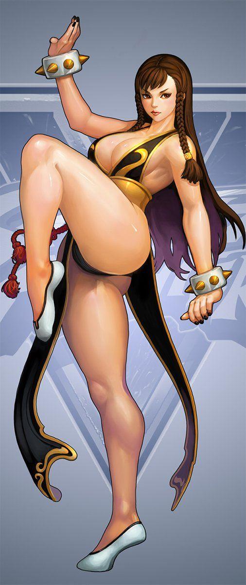 Street Fighter, Chun-li, by katoyo85