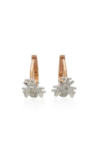 Cool Medium colette jewelry llc pink mini wasp k pink gold diamond earrings