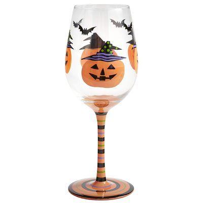 Halloween Pumpkin Goblet