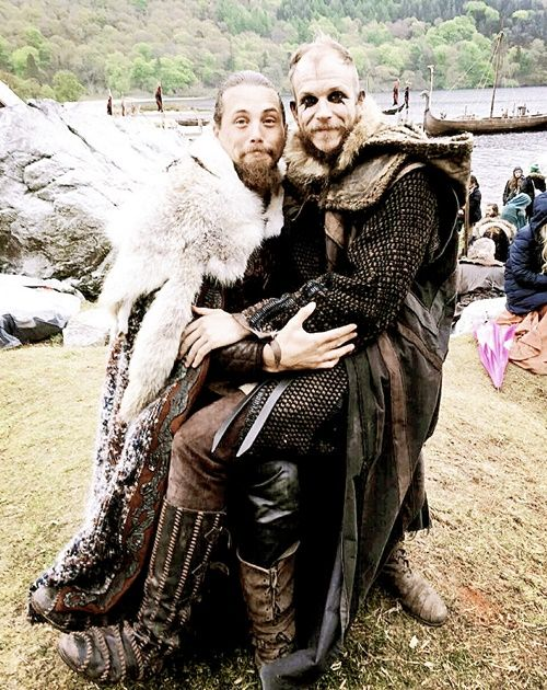 Vikings storytime with Floki.