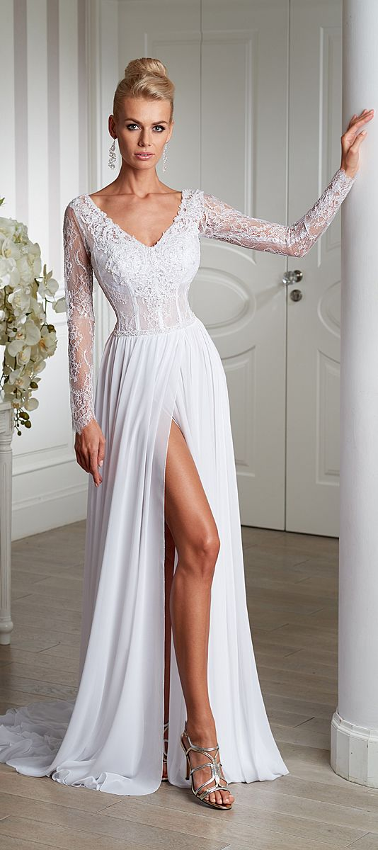 1184 best Wedding Dresses images on Pinterest | Wedding frocks ...