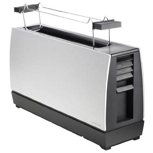 Toaster: One slot II JACOB JENSEN - W37 x D11.4 x H20 - £70