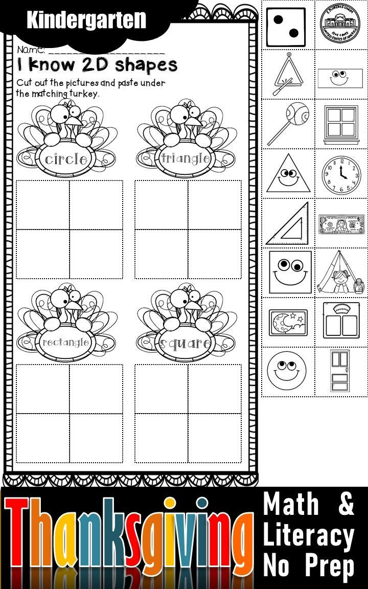 Thanksgiving Activities For Kindergarten Math And Literacy No Prep Printables Thanksgiving Math Activities Thanksgiving Activities For Kindergarten Kindergarten Math Activities [ 1152 x 720 Pixel ]