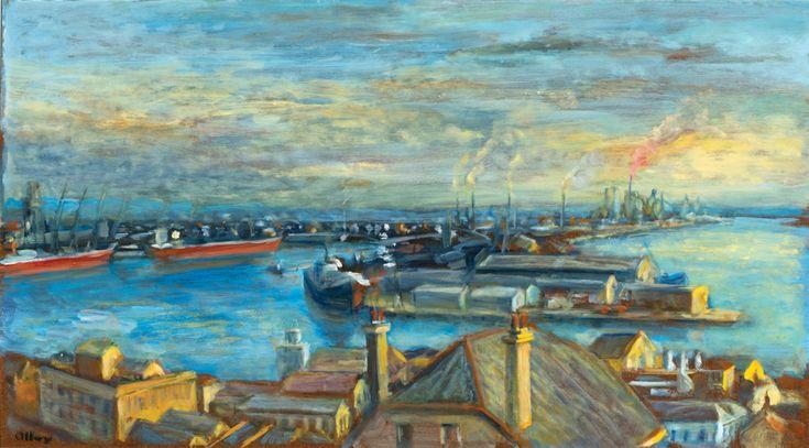 """""""Dockyards, Newcastle,"""" c.1971"""