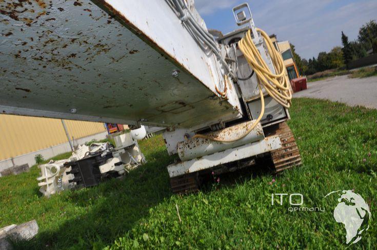 Baumaschinen für den Tunnelbau http://www.tunnelbagger.de/bilder.html Bilder Galerie ITCSA Modell des Baggers ITC312 #schaeff #bagger #itc #itc312 #excavator