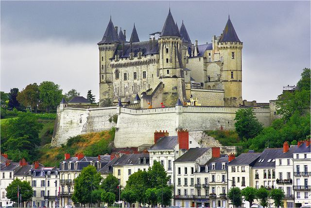 Wish you were anywhere but at work this Tuesday? Now imagine you were at Saumur, Pays de la Loire, France