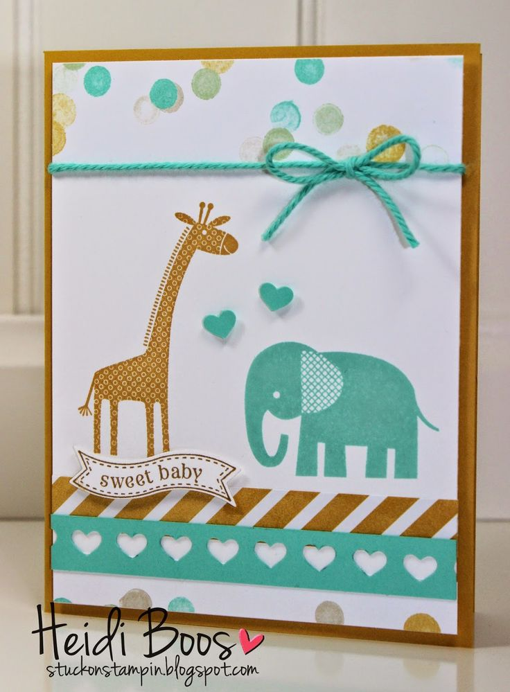 Creation Station Blog Hop - Baby Baby!