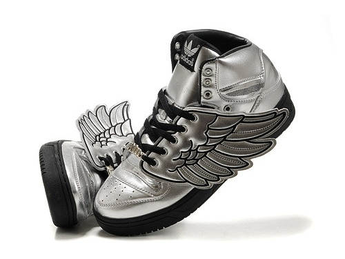 Jeremy Scott x Adidas wing sneakers -- what yall think ?