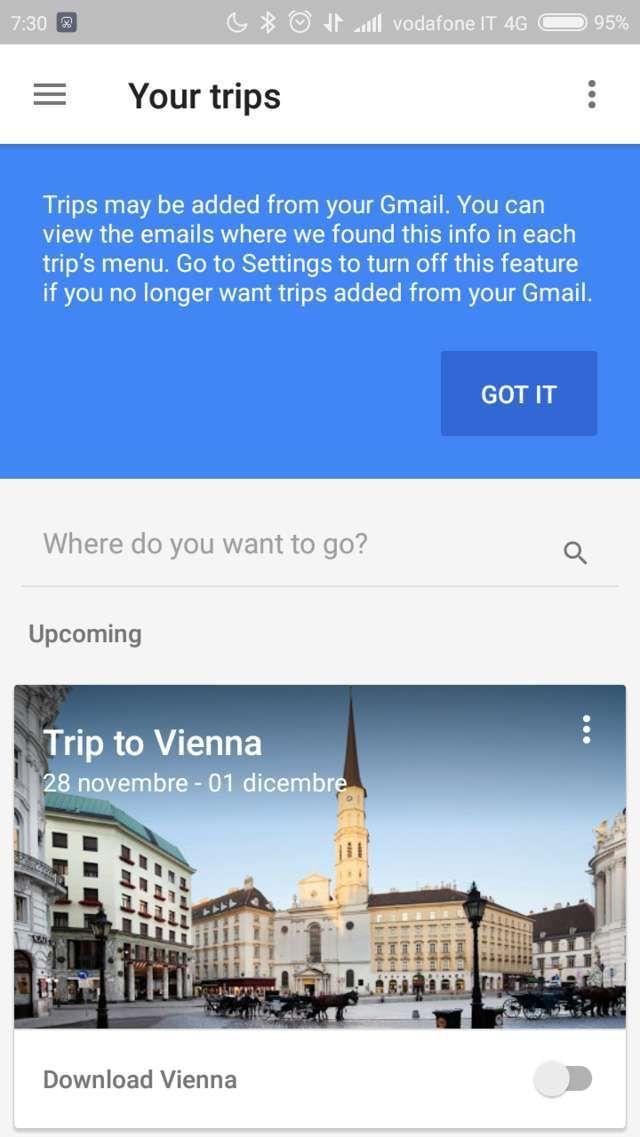 Una guida turistica personalizzata in tasca? Google Trips!
