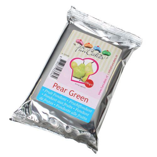 FunCakes Frucht Fondant - grün (Birne)