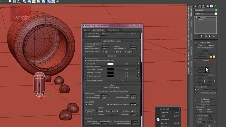 Tutorial - A Scene from Scratch - Max 2014 and Corona Renderer on Vimeo