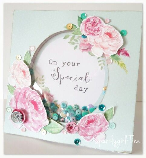 Card made by Tina Boyden for Craftwork Cards using the Heritage Rose collection