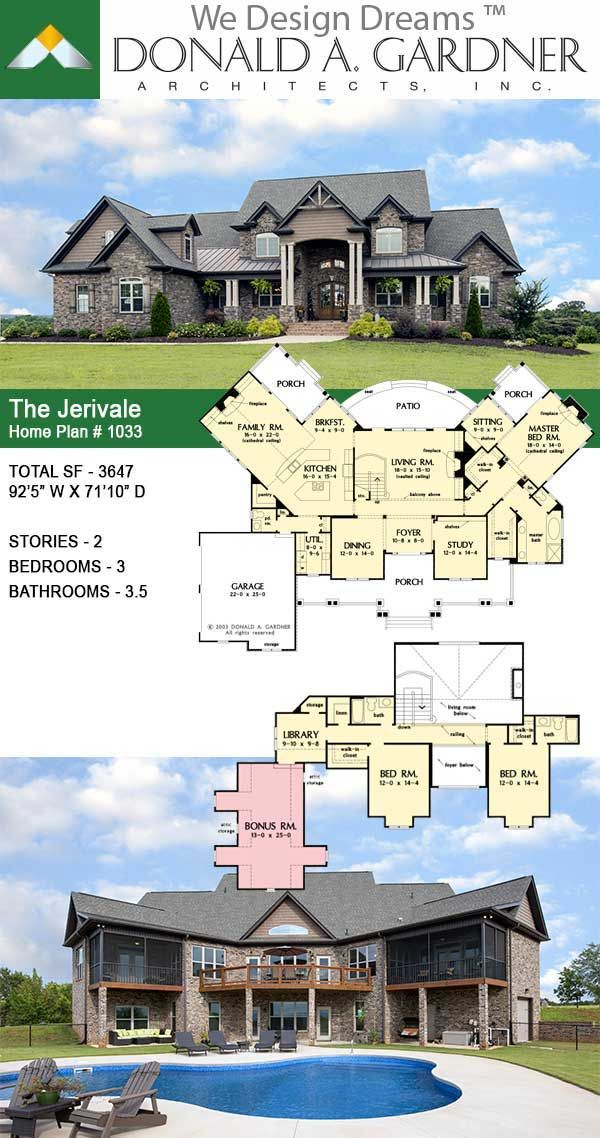The Jerivale House Plan 1033 In 2020 Craftsman House Plans Sims House Plans Bungalow House Plans
