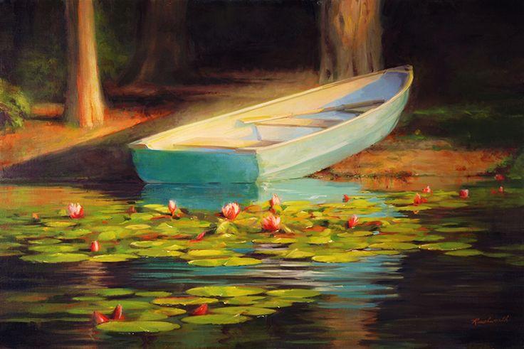 Lakeside (24 x 36 in oil)
