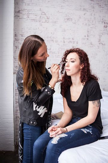 Photo from BTS Shots for Boudoir Shoot collection by Liz Capuano Photography