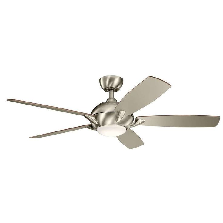 "$239 Kichler 330001BSS Geno 54"" Ceiling Fan With Remote And Light In Brushed Stainless Steel. Not all countries are eligible for this program. MPN 330001BSS. Family Geno. Color Brushed Stainless Steel. Fan Blade Span 14. 