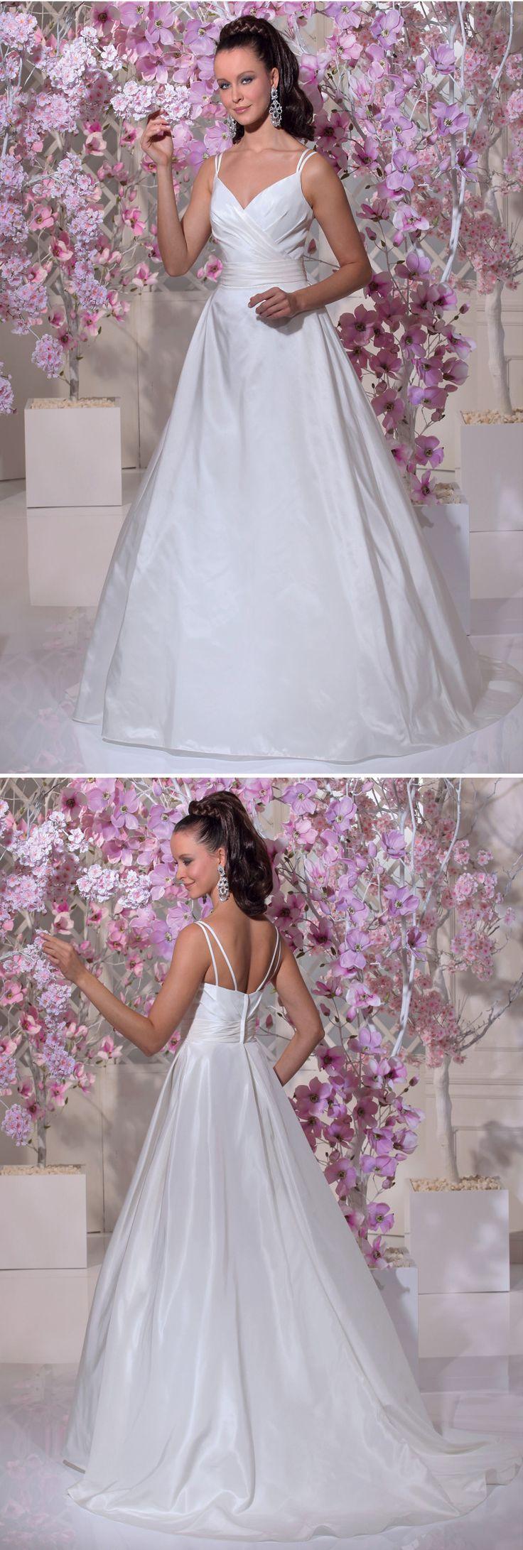 11 besten Brautmode und Hochzeitskleider Bilder auf Pinterest ...