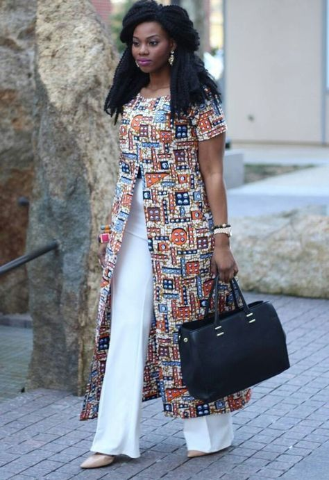 Chic Office Style – #africaine #chic #Office #styl…