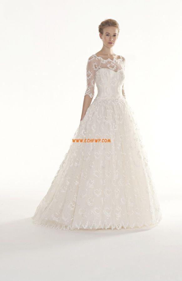 Templom Csipke Természetes Menyasszonyi ruhák 2014