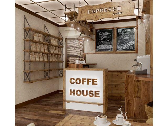 дизайн интерьера - Главная - Кофейня