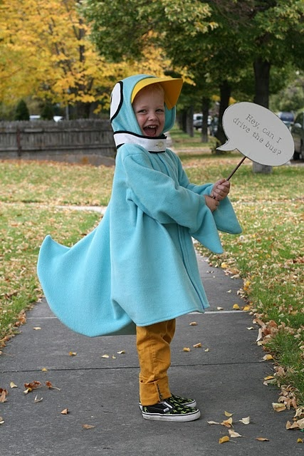 This would be the coolest costume ever!! Oh, how I love Mo Willems and wish every author could make James laugh like he does.