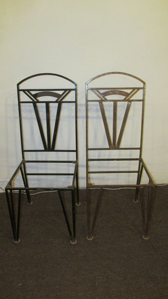 art deco outdoor furniture. art deco inspired wrought iron outdoor dining chair set of 2 furniture s
