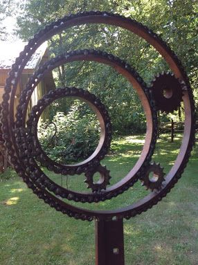 25 Unique Metal Garden Art Ideas On Pinterest Metal Art