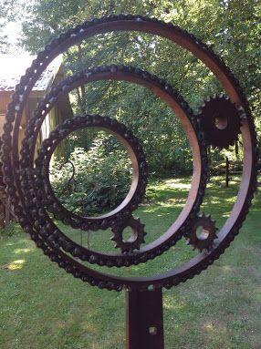 17 Best ideas about Metal Garden Art on Pinterest Garden art