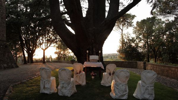 Ceremony under the old tree