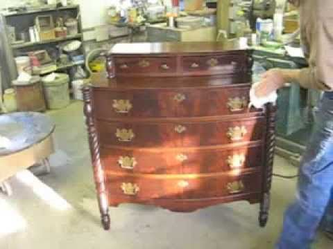 Restoring A Chest Of Drawers