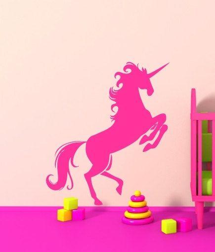 Best 25+ Unicorn wall decal ideas on Pinterest