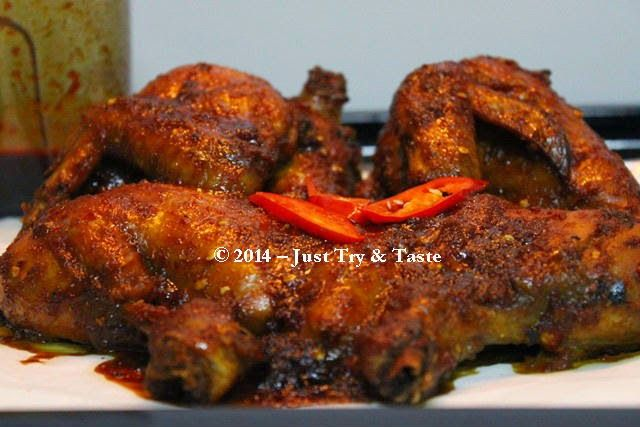 Just Try & Taste: Ayam Panggang Kecap Nan Spicy