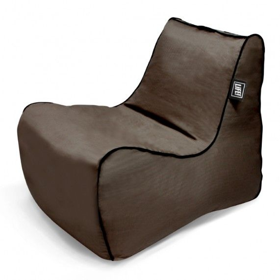 The Loft Cabin in Dark Chocolate features cotton herringbone fabric in a warming rich chocolate colour, great for the lounge room this winter! From lifeliveitup.com.au