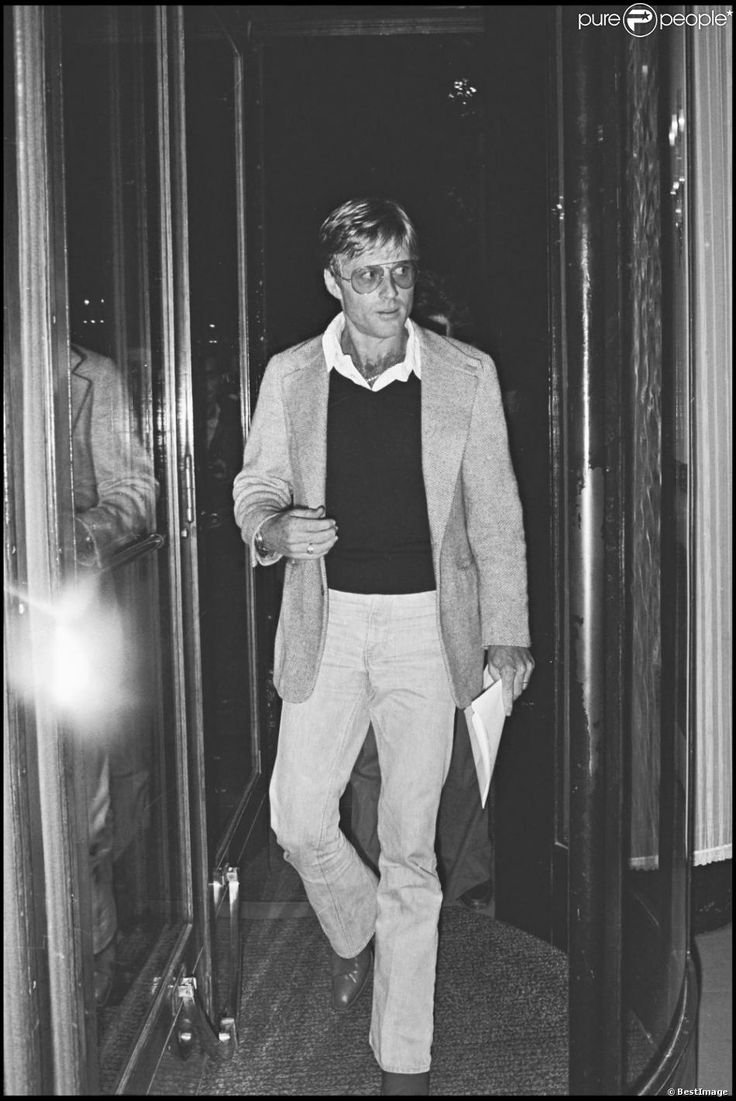 ARCHIVES -Robert Redford à Paris le 22 septembre 1976