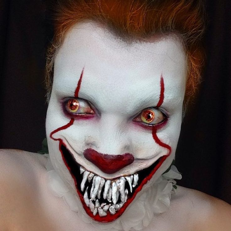 Best 25+ Scary halloween makeup ideas on Pinterest ...