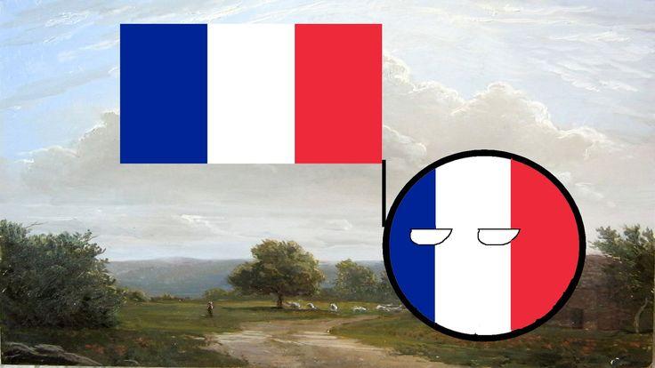 Histoire du drapeau français moderne.