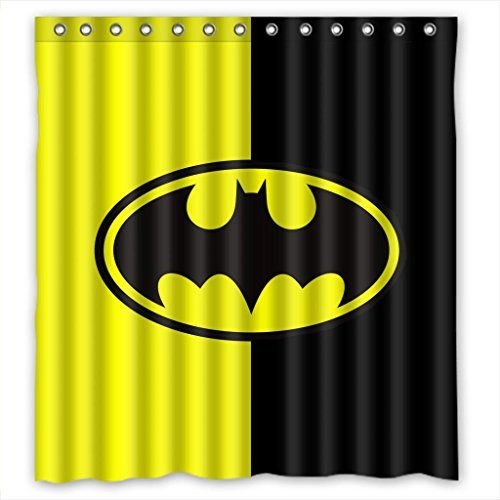 Batman Shower Curtain Designs #batmanshowercurtainglam #showercurtainglamour
