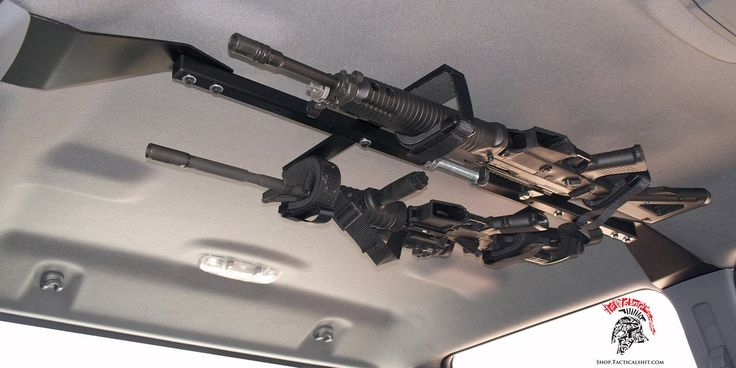Tactical Truck Ceiling Two Gun Mount Vehicle Storage