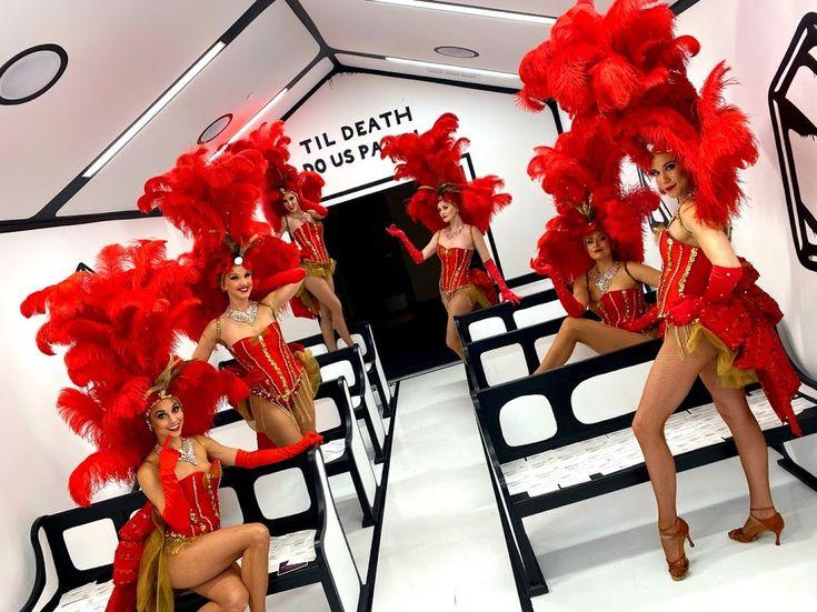 Premier Showgirls host wedding reception in Las Vegas #