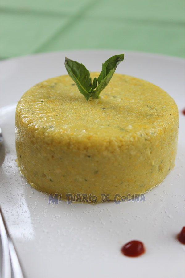 Una deliciosa e innovadora creación de este mousse estilo humitas.