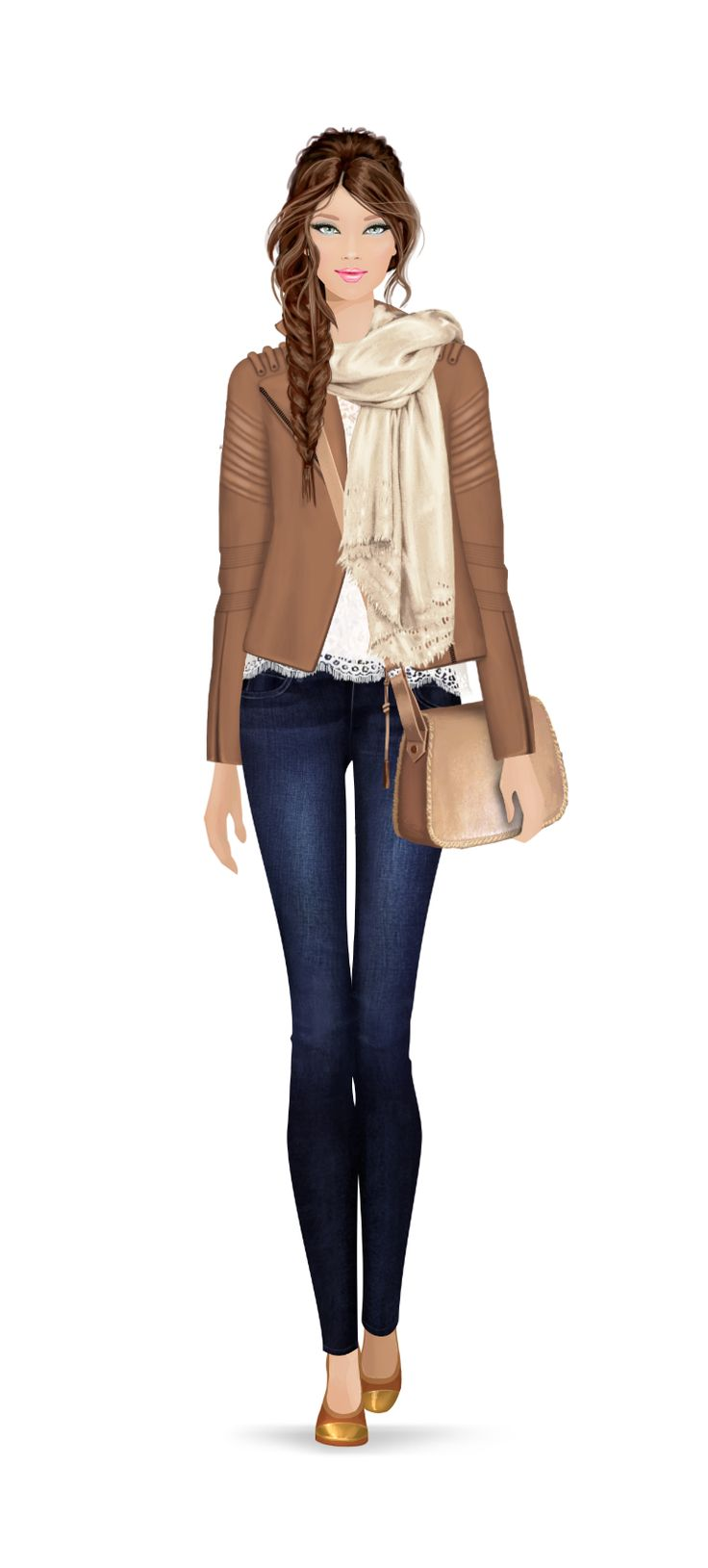 Fashion Game outfit super cute!!! #Covet fashion game