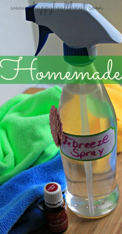 Homemade Febreze Spray - Happy Healthnut