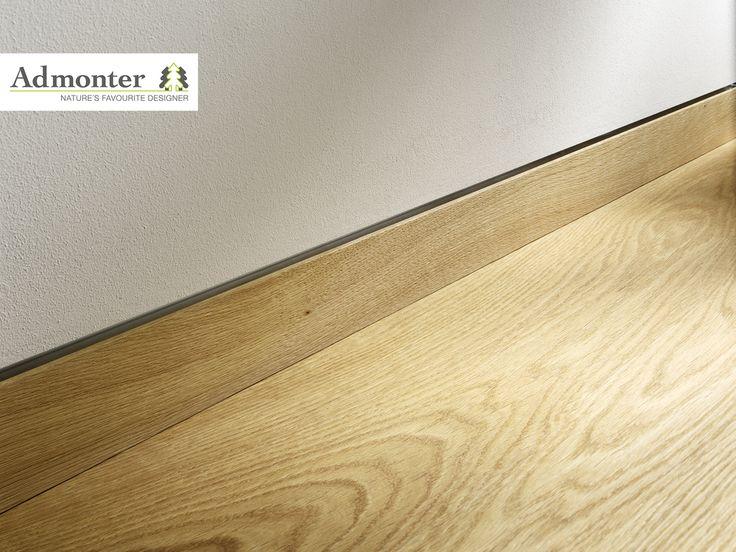 Admonter flush-mount skirting boards